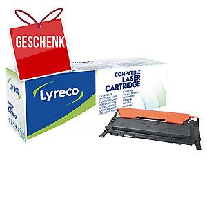 Toner Lyreco kompatibel mit Samsung CLT-K4092S, Reichweite: 1.500 Seiten,schwarz