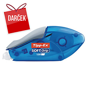 Korekčný roller Tipp-Ex Soft Grip, 4,2 mm x 10 m