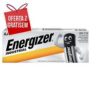 Baterie alkaliczne ENERGIZER® Industrial AA/LR06, 10 szt