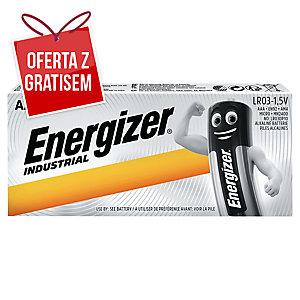 Baterie alkaliczne ENERGIZER® Industrial AAA/LR03, 10 szt