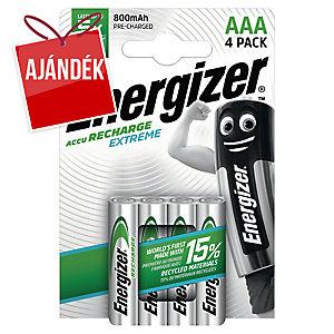 Energizer Extreme újratölthető elem, HR3/AAA, 4 db/csomag