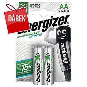 Dobíjecí baterie Energizer Extreme, HR6/AA, 2300mAh, 2 kusy