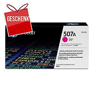 Toner HP CE403A, Reichweite: 6.000 Seiten, magenta