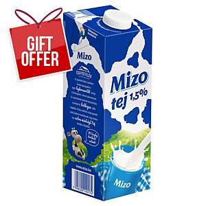 MIZO MILK 1.5% FAT 1L