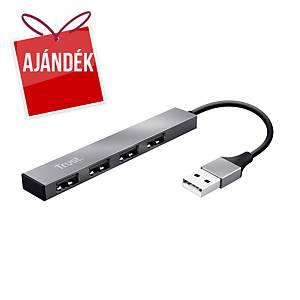 Trust Halyx elosztó, 4 portos USB-A