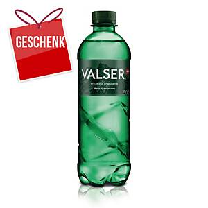 Valser Classic kohlensäurehaltiges Mineralwasser, Packung à 6x50 cl