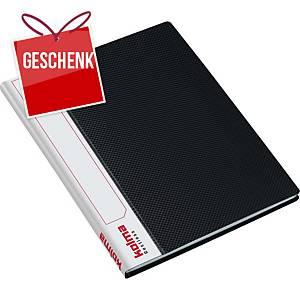 Sichtbuch Kolma Restless 03731 A5, 20 Taschen, schwarz
