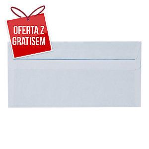 Koperty samoklejące DL NC KOPERTY, białe,  50 sztuk