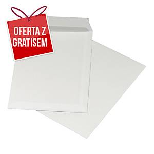 Koperty z paskiem C5 NC KOPERTY, białe,  500 sztuk