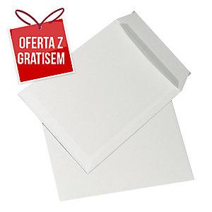 Koperty z paskiem C4 NC KOPERTY, białe, 250 sztuk