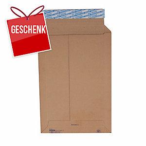 Versandtasche Brieger Brimail, B4 250x350 mm, 420 gm2, braun