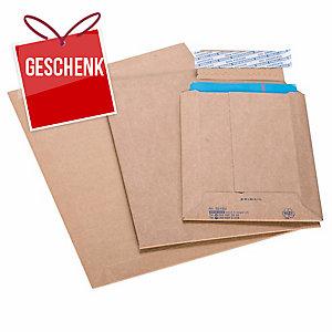 Versandtasche Brieger Brimail, 294x372 mm, 420 gm2, braun