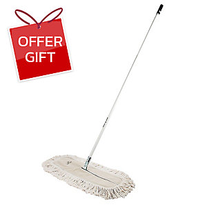 BE MAN DUSTER MOP WASTE 24 INCHES