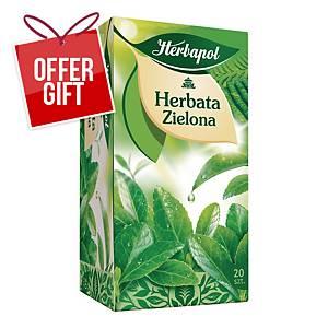 PK20 HERBAPOL GREEN TEA BAG