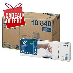 Serviette de table Tork pour distributeur N4 - 5 paquets de 225 serviettes