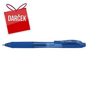 Gélové pero Pentel Energel X BL107, klikacie, 0,7 mm, modré