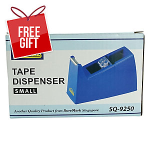 SUREMARK TAPE DISPENSER FOR TAPE UP TO 20MM X 30Y