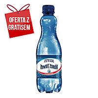 Woda źródlana ŻYWIOŁ od Żywiec Zdrój gazowana, zgrzewka 12 butelek x 0,5 l