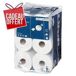 Papier toilette Tork SmartOne Mini pour T9 - 2 plis - 12 rouleaux