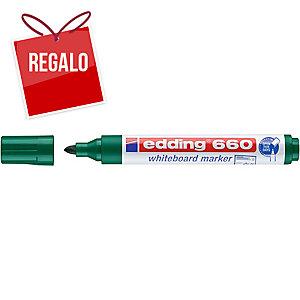 Marcador para pizarra blanca EDDING 660 color verde