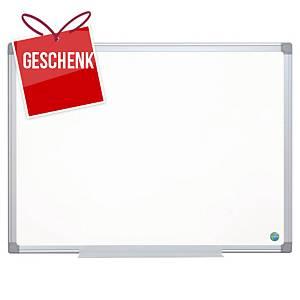 Weisswandtafel Bi-Office Earth-it CR1220790, 120x180 cm, Aluminiumrahmen