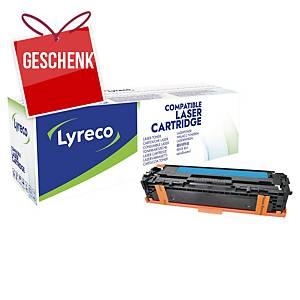LYRECO kompatibler Lasertoner HP 128A (CE321A) cyan