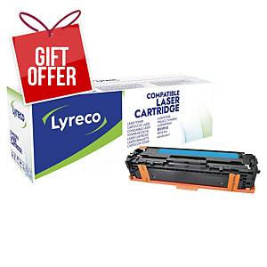 LYRECO COMPAT TONER HP CE321A CYAN