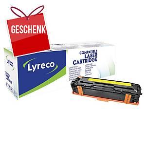LYRECO kompatibler Lasertoner HP 128A (CE322A) gelb