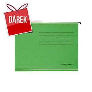 Závěsné obaly Esselte Classic, pro A4 dokumenty, barva zelená, balení 25 ks