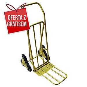 Wózek magazynowy SAFETOOL 3300 schodowy, składany, 100 kg