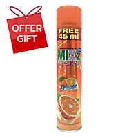 MIXZ AIR REFRESHER SPRAY ORANGE 365 MILLILITERS