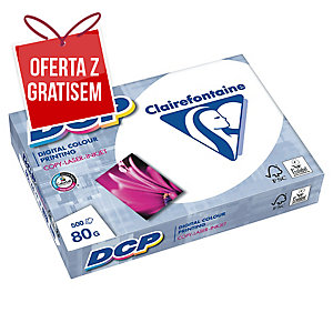 Papier CLAIREFONTAINE DCP satynowany A4, 80 g/m², 500 arkuszy