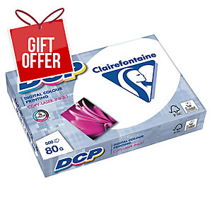 CLAIREFONTAINE DCP PAPER A4 80GSM WHITE - REAM OF 500 SHEETS