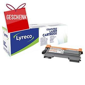 LYRECO kompatibler Lasertoner BROTHER TN2220 schwarz