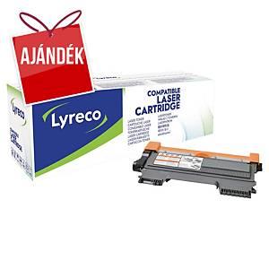 LYRECO kompatibilis toner lézernyomtatókhoz BROTHER TN2220 fekete