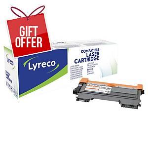 LYRECO LAS CART COMP BROTHER TN-2220 BLK
