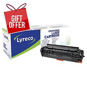 LYRECO LAS CART COMP HP CE410A LJPRO BLK