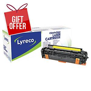 LYRECO LASCART COMP HP CE412A LJPRO YLLW