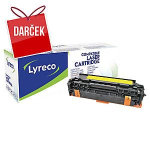Toner Lyreco kompatibilný HP CE412A žltý do laserových tlačiarní