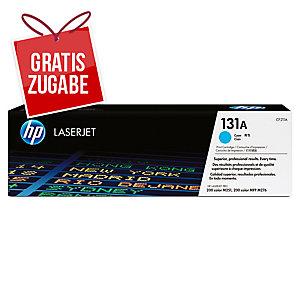 Toner HP CF211A, Reichweite: 1.800 Seiten, cyan