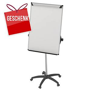 Bi-Office Earth-It mobiler Flipchartständer, 100 x 70 cm