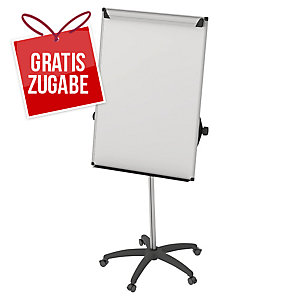 Flipchart Bi-Office EA4876995 Earth-It, Maße: 100 x 70cm, silber/swz