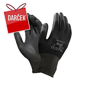 Viacúčelové rukavice na precíznu prácu Ansell HyFlex® 48-101, veľkosť 9