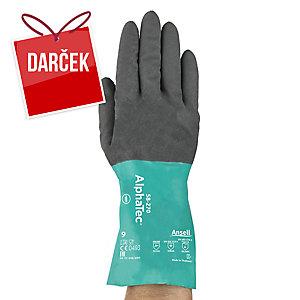 Chemikáliám odolné rukavice Ansell AlphaTec® 58-270, veľkosť 9