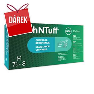 Ansell rukavice nitrilové TOUCHNTUFF® 92-600, zelená, velikost 7,5-8