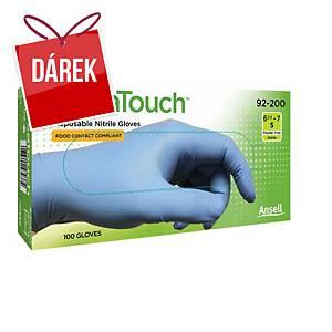 Ansell rukavice nitrilové VERSATOUCH® 92-200, modrá, velikost 7,5-8