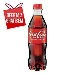 Napój gazowany COCA-COLA, zgrzewka 18 butelek x 0,5 l