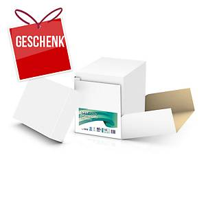 Kopierpapier Evercopy Premium A4, 80 g/m2, weiss, Cleverbox à 2 500 Blatt