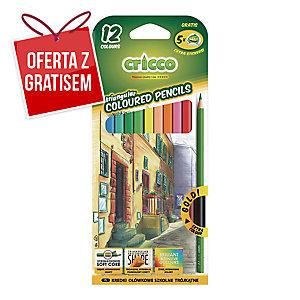Kredki CRICCO, 12 kolorów