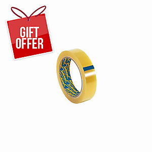 PACK OF 6 SELLOTAPE OFFICE TAPE 24MMX66M